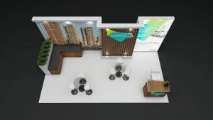 exhibition display construction