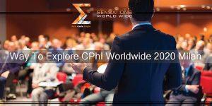 CPhI Worldwide 2020 Milan