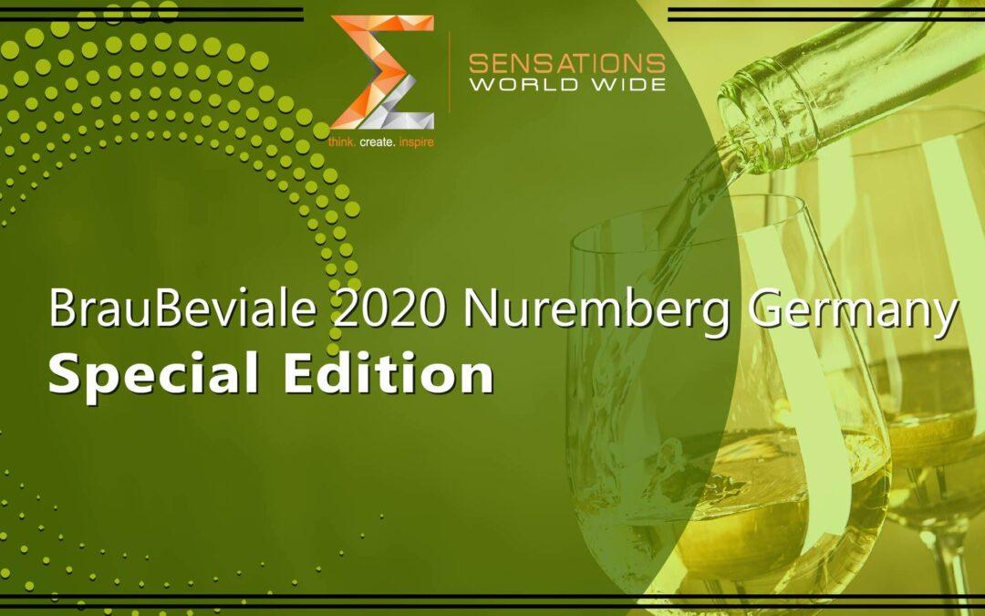 BrauBeviale 2020 Nuremberg Germany Special Edition